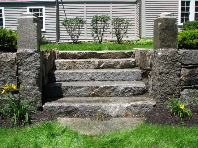 Reclaimed Granite Walls and Stairways: a collection of Other ideas ...