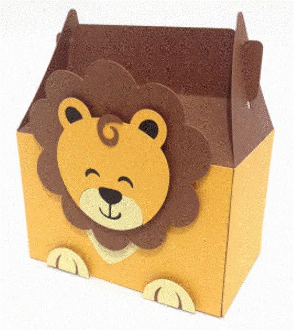 Lembrancinhas personalizadas para festa infantil com tema safari.