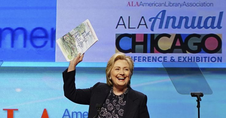 Hillary Clinton tells librarians they protect truth, facts