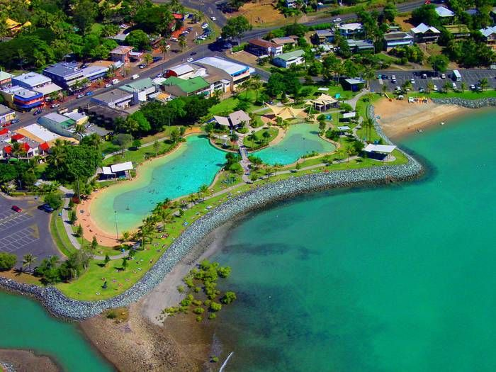 Lagoons at Airlie Beach.. :)