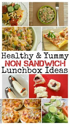 Healthy and yummy non sandwich lunchbox ideas for all the family The Ultimate Party Week 32