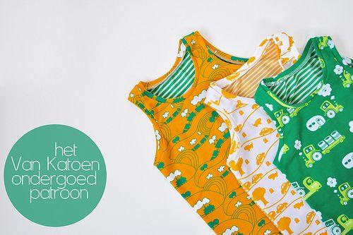 Het Van Katoen ondergoed patroon, vanaf nu gratis te downloaden. - Oontje