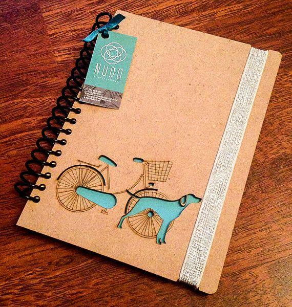 Perro diario de diario cuaderno esbozo nueva escritura de diario revista madera perro amantes espiral notebook cuaderno scrapbook libreta de memorybook 8 x 3