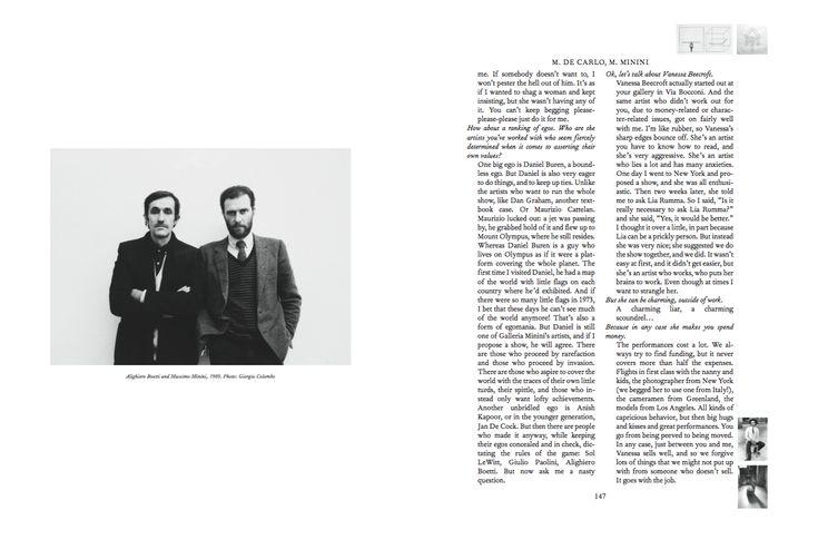 Mousse Magazine 56 ~ 2006–2016: A SMALL ANTHOLOGY #moussemagazine #contemporaryart #art #magazine #massimominini #massimodecarlo
