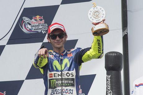 Rossi Tetap Senang Meski Akhir Pekannya Tak Sempurna