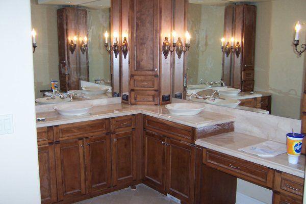 L Shaped Bathroom Vanity Google, Bathroom Vanities Jacksonville Fl