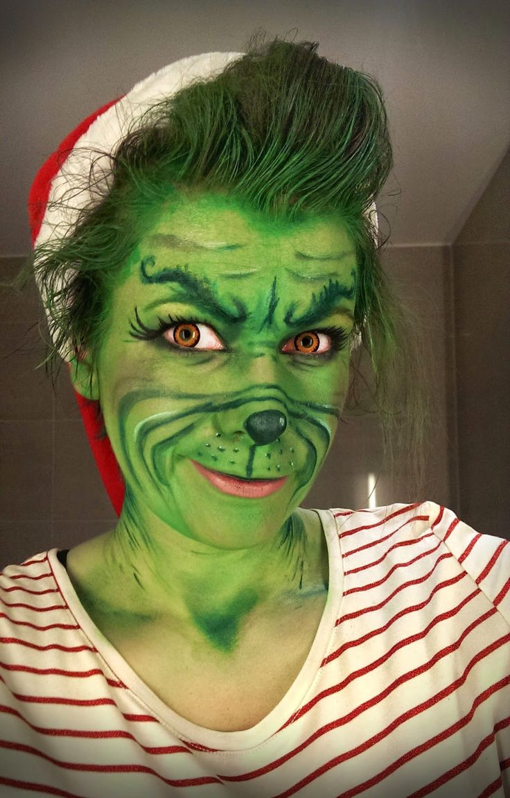 How to make your own grinch costume - Chrix Design The Grinch Who Pranked Her Colleagues