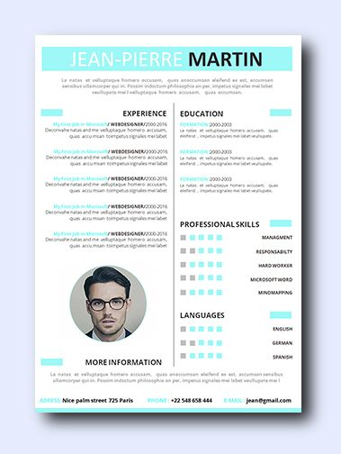 Even non-creative jobs can benefit from a modern resume as it highlights your creativity, which is a sought-after trait that employers look for and it adds a conservative amount of color and design while remaining professional and clean.