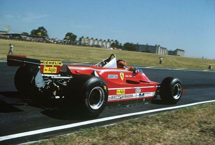 Gilles on Ferrari t5