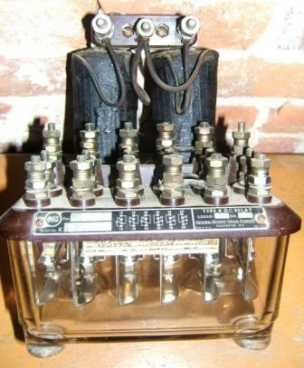 General Railway Signal Company Relay Terminal by TruNorthPickers, $34.99