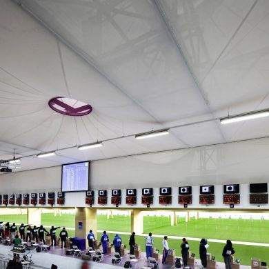 Olympic Shooting Venue: Location: London, UK Year of Construction…