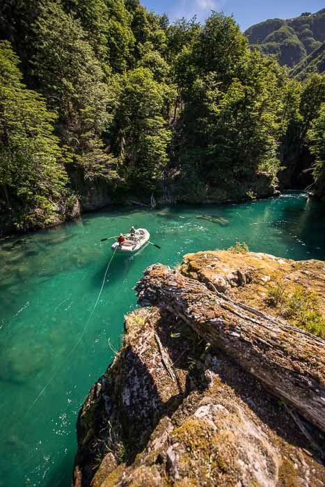 Paloma River Fly Fishing (Chile)