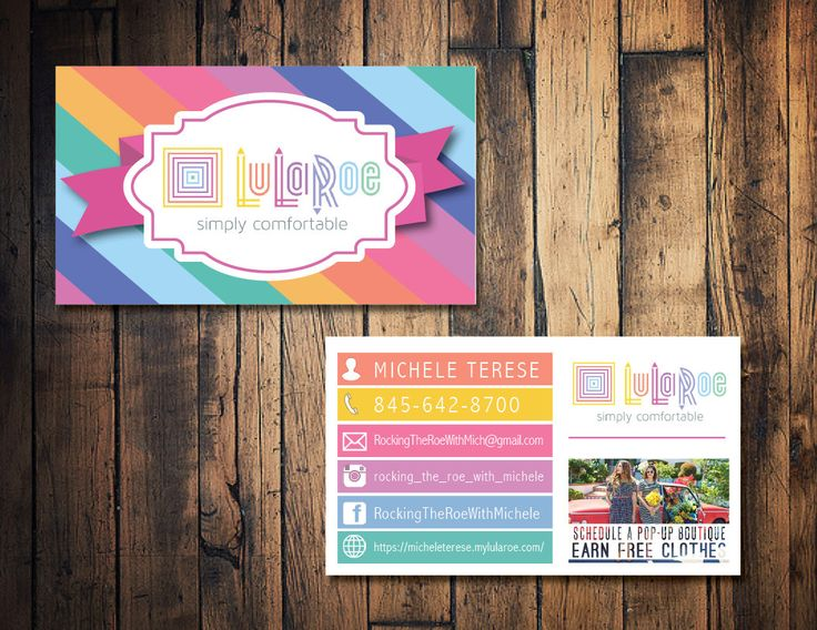 Lularoe business card lularoe calling card lularoe for Etsy lularoe business cards