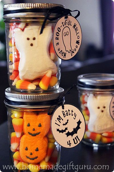 Have some creepy crawly fun with a few Halloween gift ideas - halloween gift bag ideas