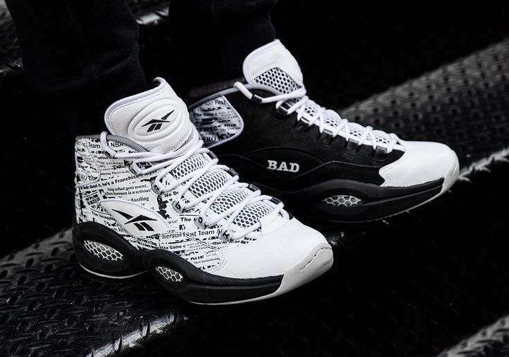 "Allen Iverson's Polarizing Persona Inspires the Reebok Question ""Misunderstood"" Page 2 of 2 - SneakerNews.com"