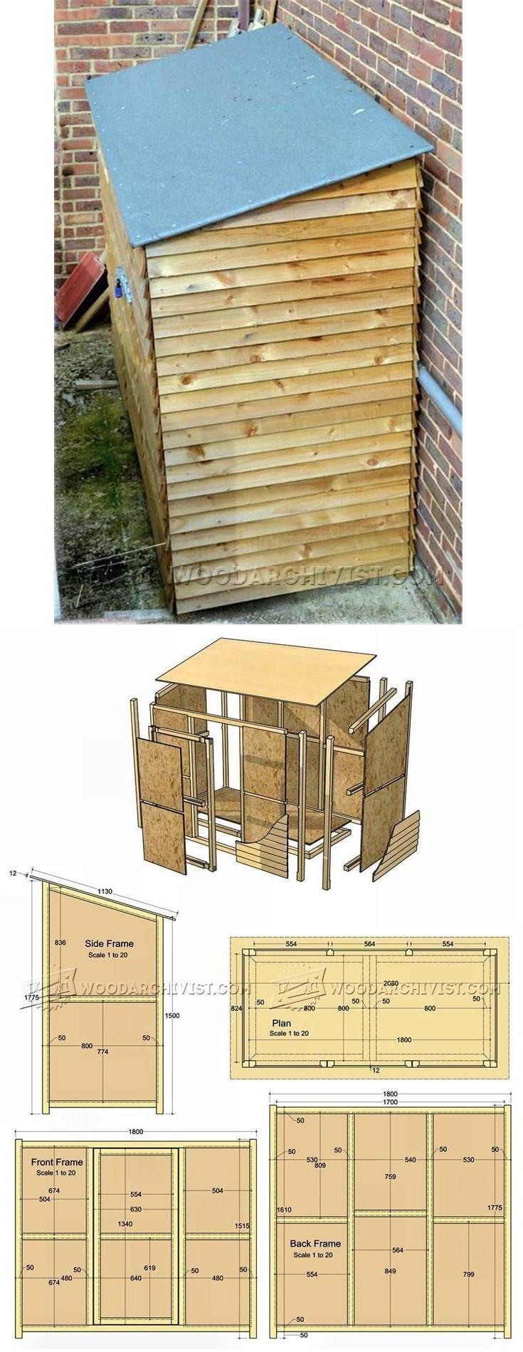Garden Store Plans - Outdoor Plans and Projects | WoodArchivist.com