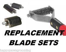 REPLACEMENT BLADE SETS For PAW BROTHERS Pet Coat Hair Stripper Rake Rakke Tools