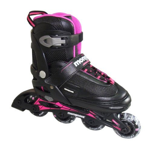 Special Offers - Mongoose Girls Inline Skates Small - In stock & Free Shipping. You can save more money! Check It (June 01 2016 at 01:10PM) >> http://kidsscooterusa.net/mongoose-girls-inline-skates-small/