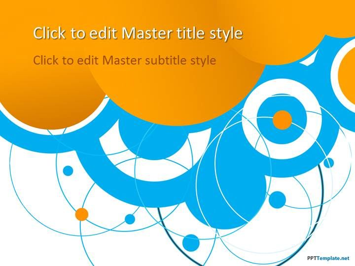 24 best abstract ppt templates images on pinterest ppt template free blue circles ppt template powerpoint templates toneelgroepblik Images