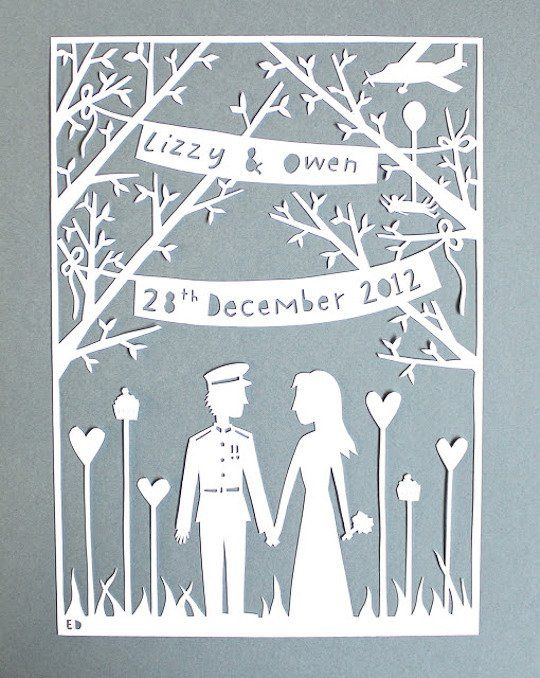 Laser cut wedding invitations << laser paper wedding certificate baby announcement anniversary