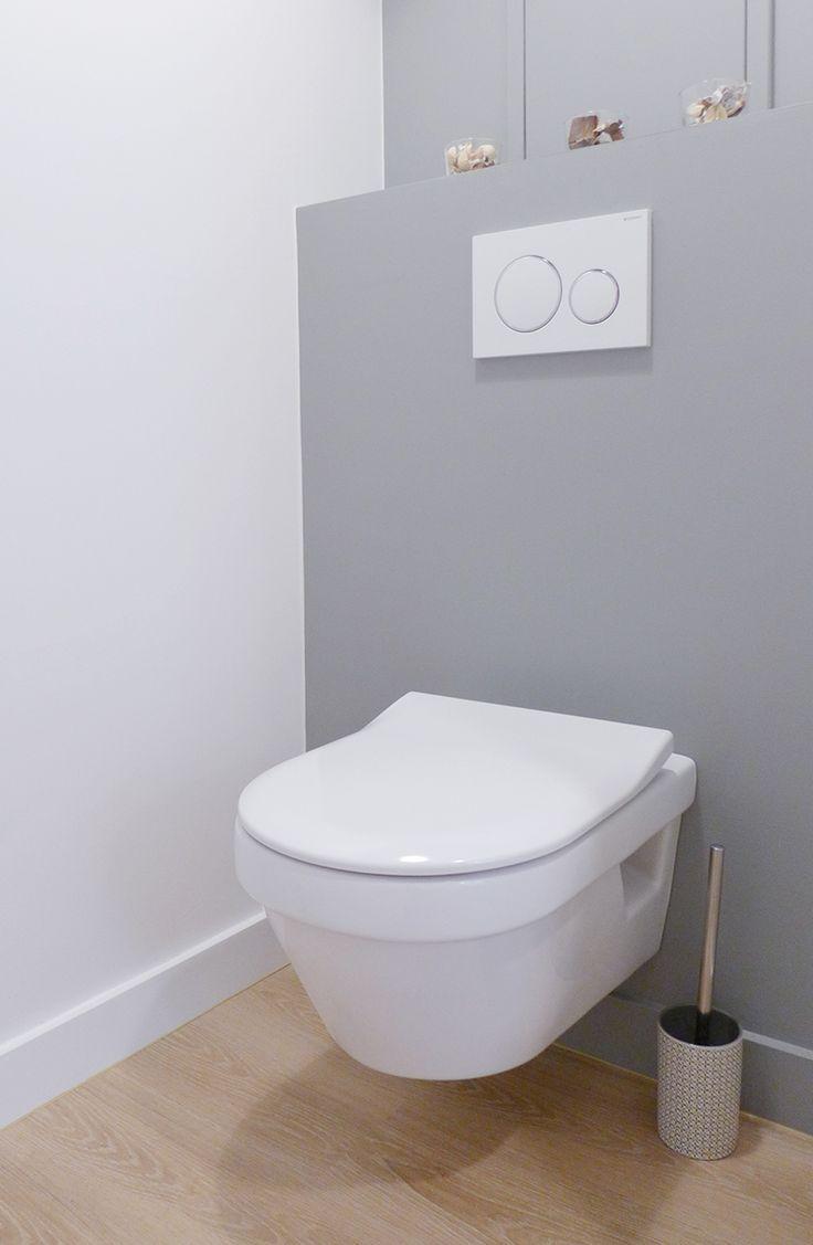 17 meilleures id es propos de peinture de salle de bain for Interieur wc suspendu
