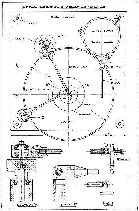 Small Grinding And Polishing Wheel Patent