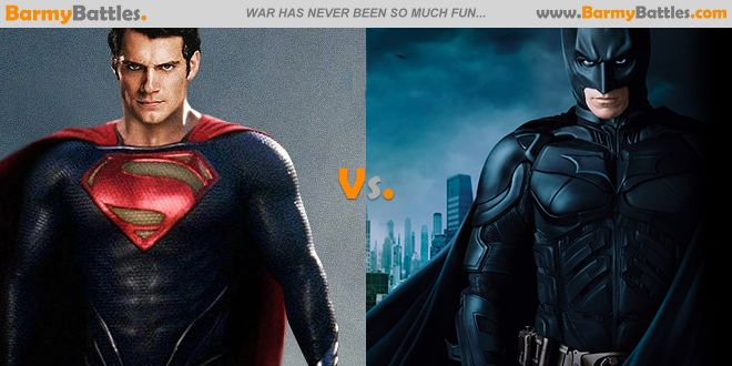 Superman Vs Batman No rules, fight to the death. Vote and Explain your reason! #superman #batman #justiceleague #avenger CLICK HERE TO VOTE: http://www.barmybattles.com/2014/02/15/superman-vs-batman/