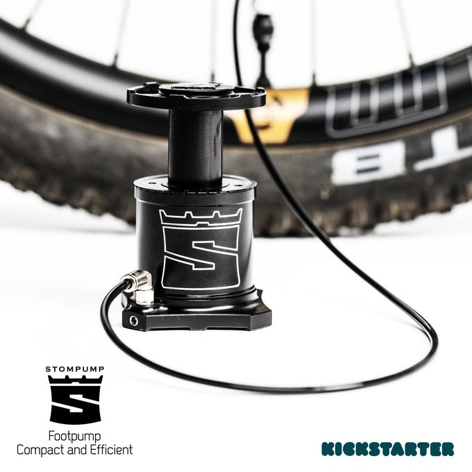The Stompump Will Inflate A 29er Mtb Tire 3 Times Faster Than A