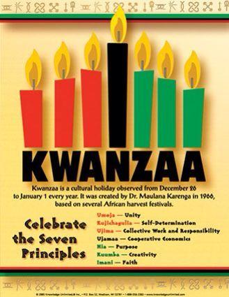 Happy #kwanzaa #Blessing #Celebrate #SevenPrinciples 🔴⚫️💚