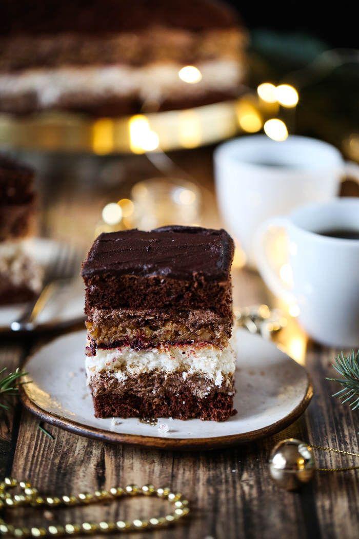 Ciasto Sultan Przepis Ciasta W 2019 Cake Recipes Desserts I