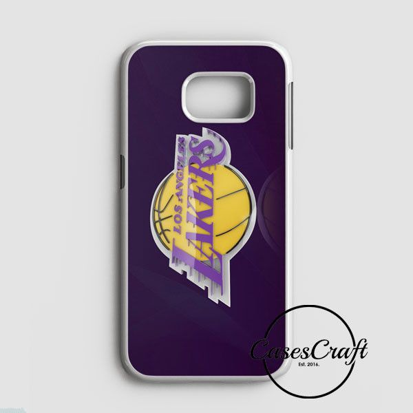 La Lakers Los Angeles Basketball Nba Samsung Galaxy S7 Edge Case | casescraft