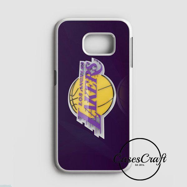 La Lakers Los Angeles Basketball Nba Samsung Galaxy S7 Edge Case | casescraft
