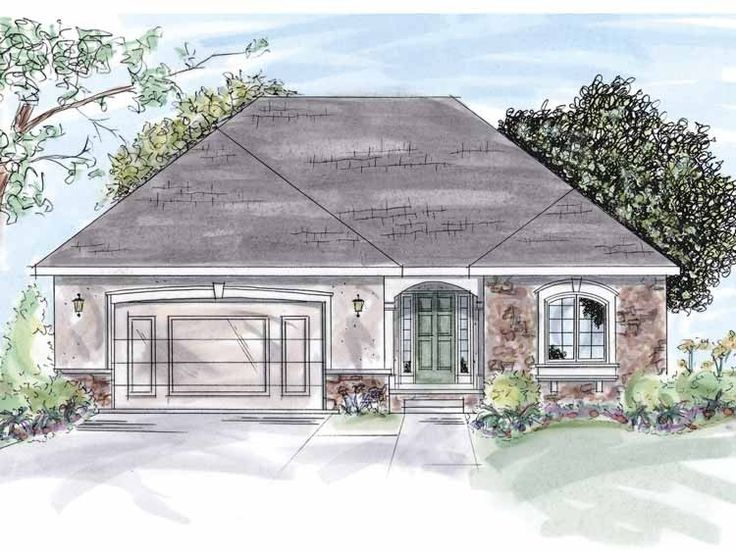 Eplans Cottage House Plan Two Bedroom Cottage 1546