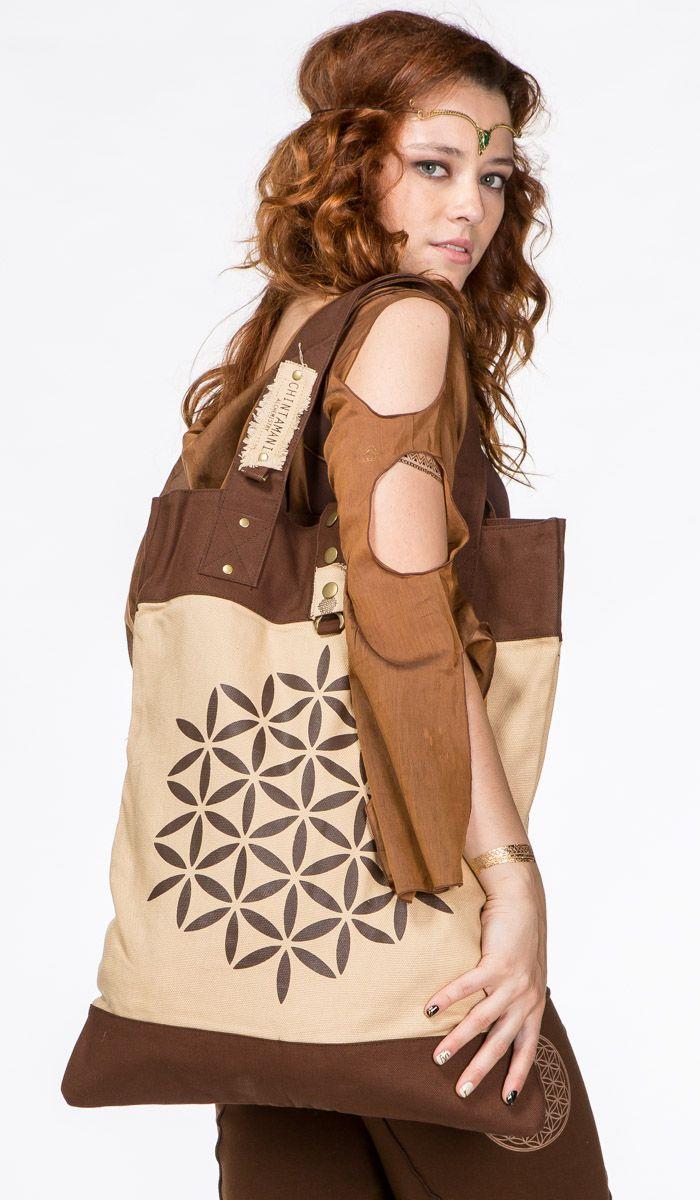 http://indiastyle.ru/products/sumka-panorama Большая сумка шоппер от ChintaMani, принт Цветок Жизни, стиль бохо Boho bag Flower of life 3420 рублей
