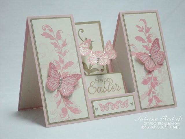 Aspiring to Creativity: Step Cards 2 - Double Sided Step CardAspire, Cards Ideas, Creative, Easter Cards, Side Step Cards, Butterflies Cards, Double Side, Cards Tutorials, Paper Crafts