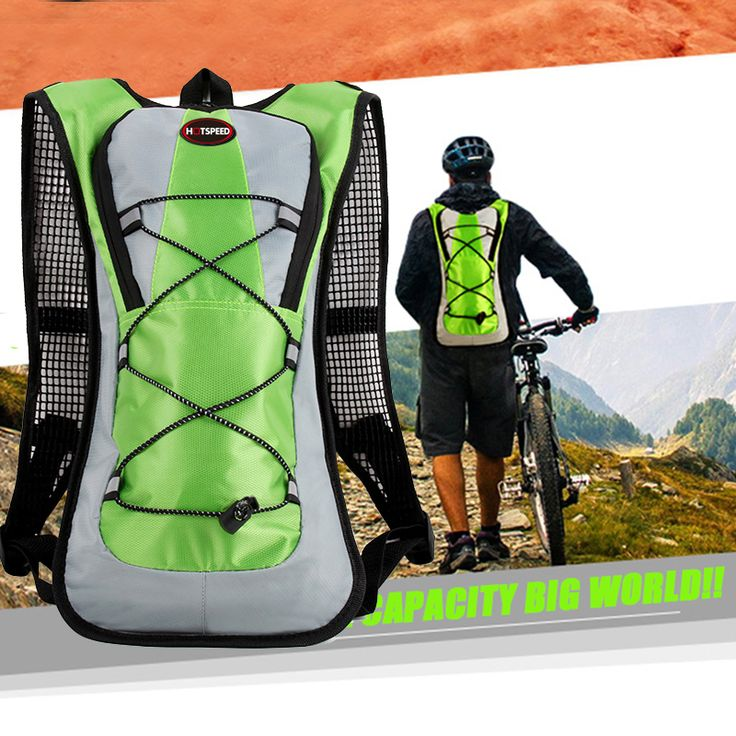 2016 Mountain Backpack 5L Hiking Hydration Pack Cycling Road Rucksack Sport & Camping Rucksack Large Outdoor Travel Bag mochila