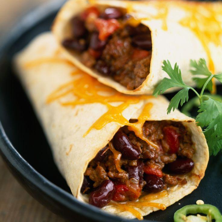 Découvrez la recette Fajitas de boeuf sur cuisineactuelle.fr.