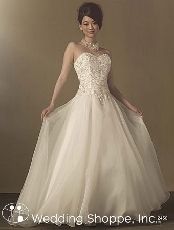 Alfred angelo wedding dress style 2300 military