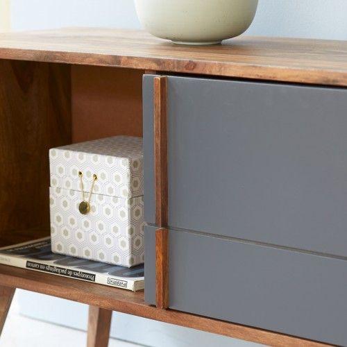 Verkauf von TV-Möbel - Möbel aus Palisander Niels - Tikamoon