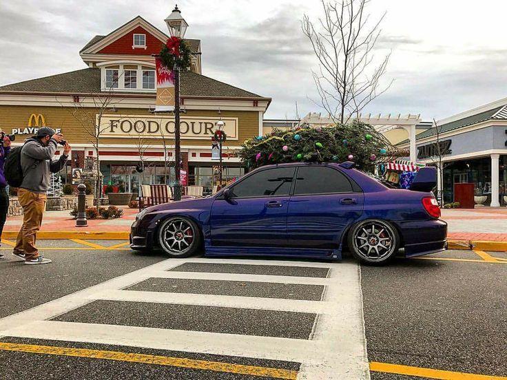 #Subaru #WRX #Sti #Modified #Slammed Christmas Edition