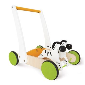 Hape Galloping Zebra Cart #ridenwalk #rideandwalk #toys #kidstoys  #wheels #vancouver #zebra #cart