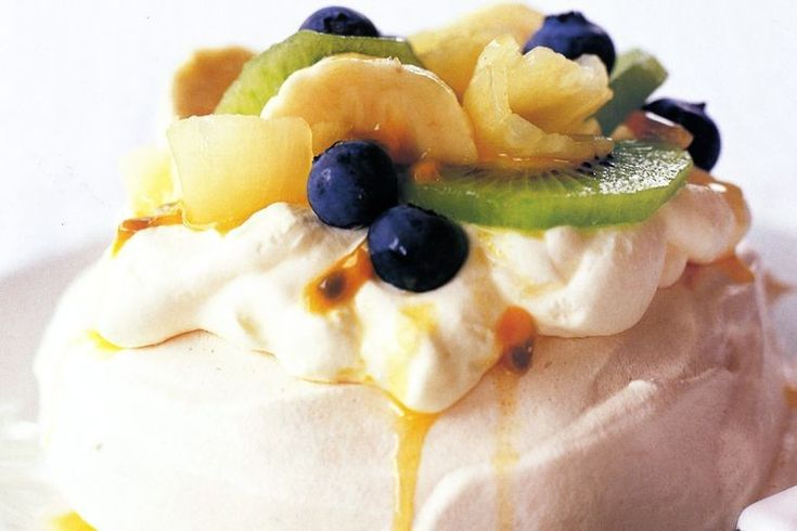 It's the pavlova we know and love, but in individual sizes so no ned to share!