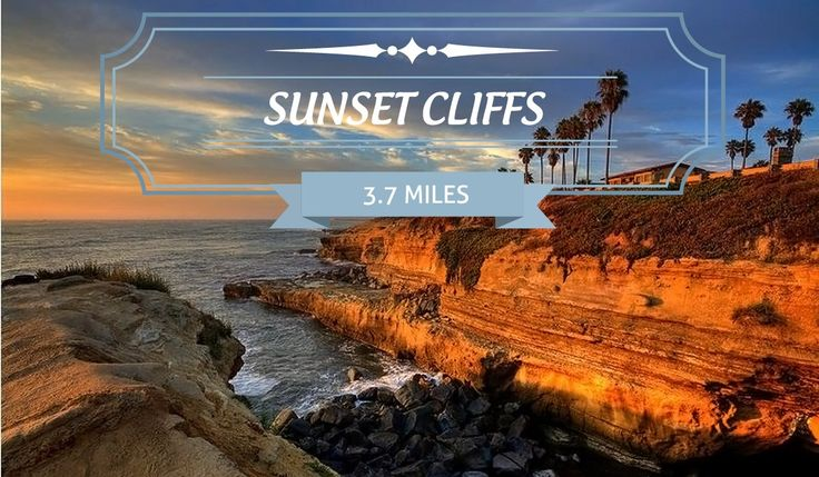 Sunset Cliffs is one of San Diego's most photographed views, with a path that spans picturesque beaches and parks. Find hiking maps and details here.