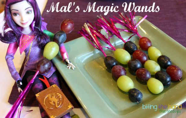 """Biting The Hand That Feeds You: Disney """"Descendants"""" Dolls and DVD Dinner Party!"""