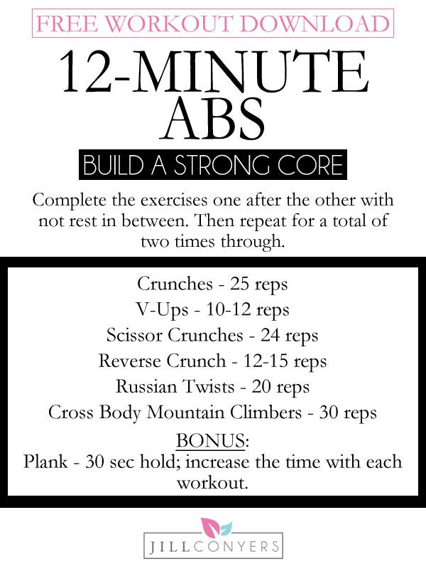 how to build abs in a week