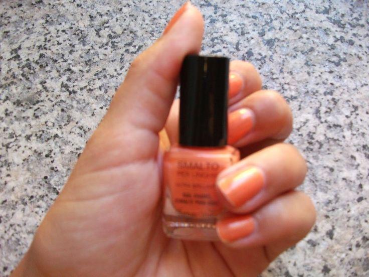 Tartaruga Zeta Fashion & Beauty: Smalto della settimana - Manicure of the week  #beauty #beautyblogger #beautyproducys #manicure #nailpolish #nails #smalto #unghie #summer #orange @bottegaverde