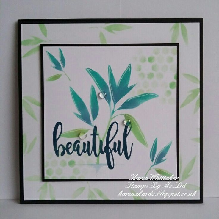 The beautiful Floral Splendor stencil from Stamps By Me  #stampsbyme #dtsample #floralsplendor #stencil #flowers #distressoxides #craft #creative #ilovetocraft #creativity #karenzkardz