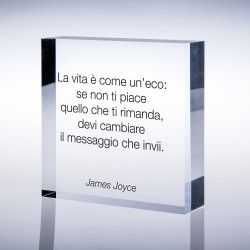 """La vita è come un'eco ..."" di James Joyce"