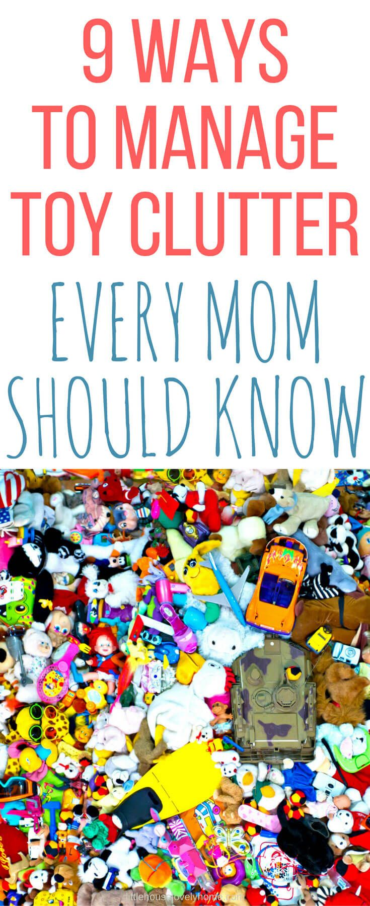 You don't have to choose between toys and your sanity anymore. These tips for dealing with toy clutter will help you get the crazy under control and give you and your kids the space you need to enjoy life.