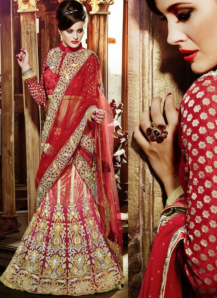 Service Provider of Lehenga Sarees offered by Shades@ http://www.shadesandyou.com/product-category/lehngas/  #LehengaSarees #LehengaCholi #BridalLehengas #EngagementLehengas